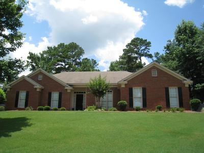 Midland Single Family Home For Sale: 8095 Glen Valley Drive