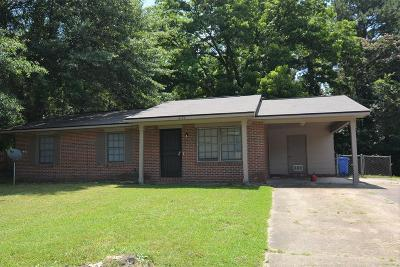 Columbus GA Single Family Home For Sale: $58,500