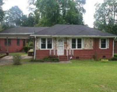 Columbus GA Single Family Home For Sale: $24,000