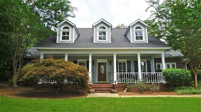 Columbus Single Family Home For Sale: 7526 River Crest Drive