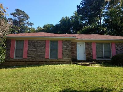 Columbus GA Single Family Home For Sale: $109,000