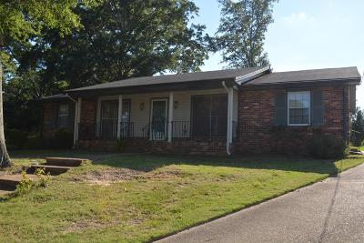 Columbus GA Single Family Home For Sale: $116,900