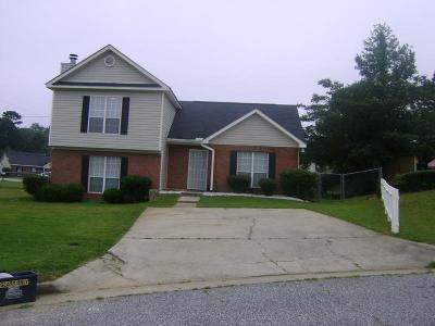 Columbus GA Single Family Home For Sale: $109,900