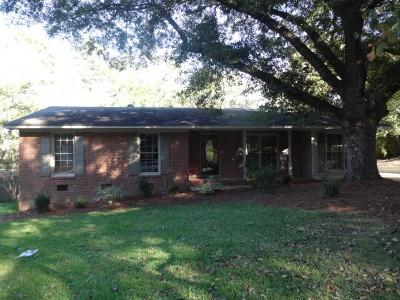 Columbus Single Family Home For Sale: 3058 Oak Circle