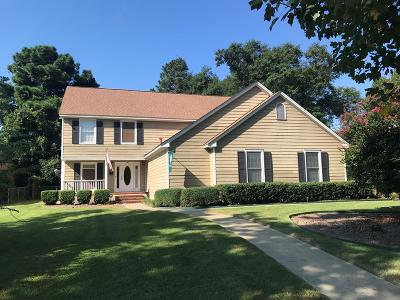 Columbus Single Family Home For Sale: 1800 Park Drive