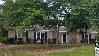 Columbus GA Single Family Home For Sale: $133,000