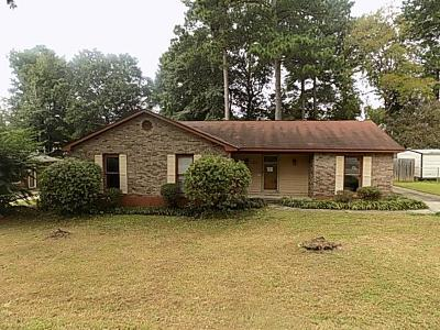 Columbus Single Family Home For Sale: 7835 Crawford Drive