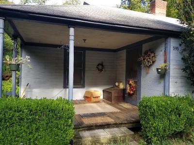 Hamilton Single Family Home For Sale: 595 G Street