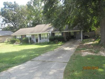 Single Family Home For Sale: 1618 Lokey Drive
