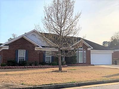 Muscogee County Single Family Home For Sale: 2978 Waterhill Drive