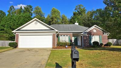 Muscogee County Single Family Home For Sale: 8026 Creekland Drive