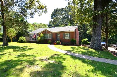 Phenix City Single Family Home For Sale: 3405 Summerville Road