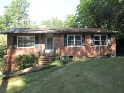 Muscogee County Single Family Home For Sale: 3863 Woodland Drive