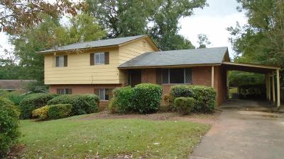 Columbus GA Single Family Home For Sale: $57,000
