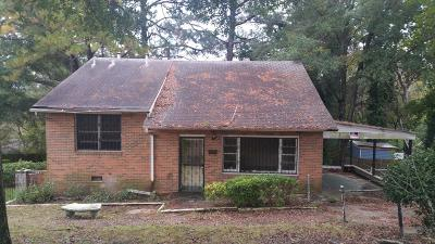 Columbus GA Single Family Home For Sale: $45,000