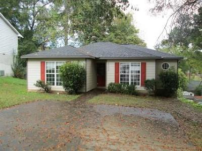 Columbus GA Single Family Home For Sale: $51,300