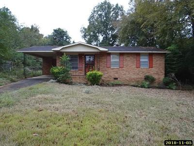Columbus GA Single Family Home For Sale: $47,900