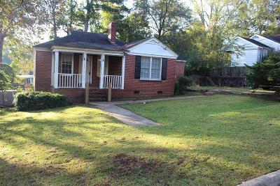 Columbus GA Single Family Home For Sale: $50,000