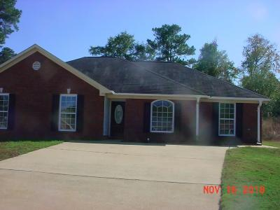 Columbus GA Single Family Home For Sale: $119,900