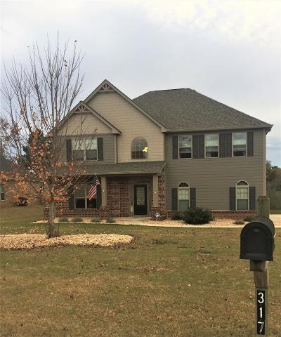 Russell County, Lee County Single Family Home For Sale: 317 Lee Road 2212