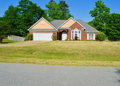 Phenix City Single Family Home For Sale: 203 Lee Road 2002