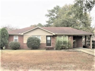 Columbus GA Single Family Home For Sale: $54,900
