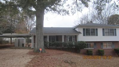 Columbus GA Single Family Home For Sale: $159,900