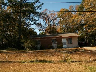 Columbus GA Single Family Home For Sale: $25,000