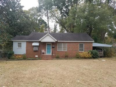Columbus GA Single Family Home For Sale: $69,900