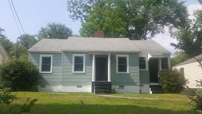 Columbus Single Family Home For Sale: 2121 Heard Street