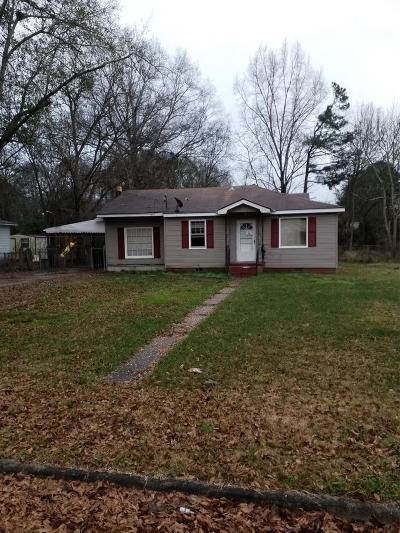 Columbus GA Single Family Home For Sale: $45,000