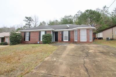 Columbus GA Single Family Home For Sale: $98,500