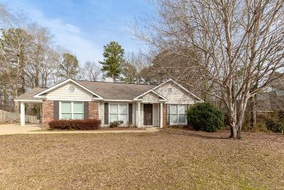 Russell County, Lee County Single Family Home For Sale: 473 Lee Road 0960