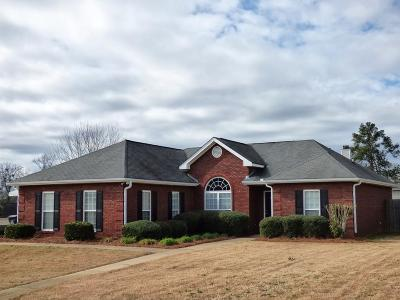 Phenix City Single Family Home For Sale: 3017 Gatewood Drive