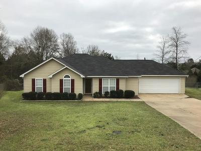 Russell County, Lee County Single Family Home For Sale: 167 Lee Road 2111