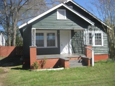 Columbus Single Family Home For Sale: 4116 7th Avenue