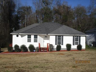 Russell County, Lee County Single Family Home For Sale: 92 Lee Road 0728