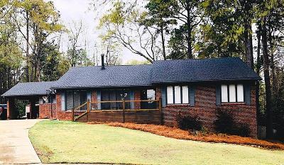 Columbus GA Single Family Home For Sale: $220,000