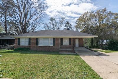 Columbus GA Single Family Home For Sale: $119,900