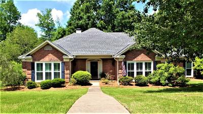 Columbus Single Family Home For Sale: 7701 Pine Ridge Drive