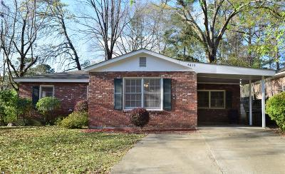 Columbus Single Family Home For Sale: 4615 Otis Jones Drive