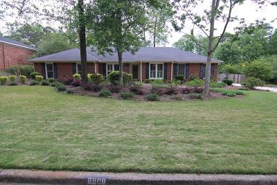 Columbus Single Family Home For Sale: 6906 Treetop Lane