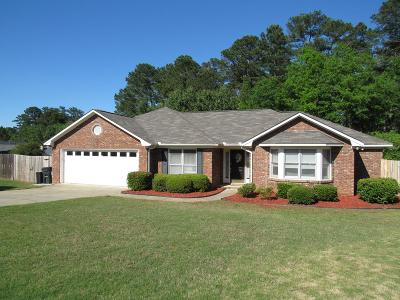 Muscogee County Single Family Home For Sale: 6614 Loblolly Lane
