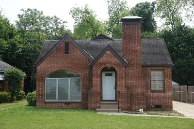 Columbus Single Family Home For Sale: 1416 32nd Street