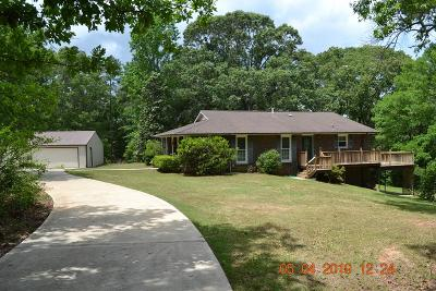 Russell County, Lee County Single Family Home For Sale: 74 Carden Road