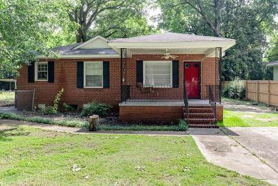 Columbus GA Single Family Home For Sale: $90,000