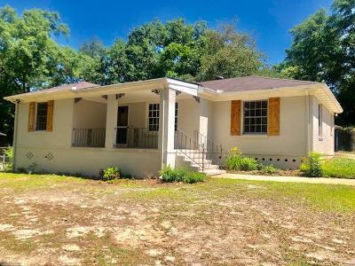 Columbus GA Single Family Home For Sale: $89,900
