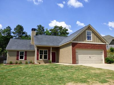 Phenix City Single Family Home For Sale: 54 Misty Forest Drive