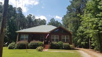 Talbotton Single Family Home For Sale: 2160 Geneva Highway