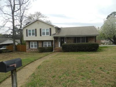 Columbus GA Single Family Home For Sale: $195,000